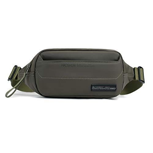 funktions-Tasche Mode Geldbörse Herren-Multifunktions-Taschen mit hoher Kapazität und stilvollem Gürtel verstellbar ()