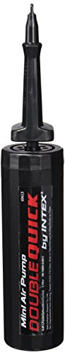317H60X5HML - Intex Hand Pump 20 cm 69613-Inflator, 29 cm, Unisex, Black, One Size
