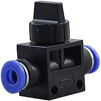 Supertool - Conector neumático para válvula de cierre de aire de control rápido para agua de aire