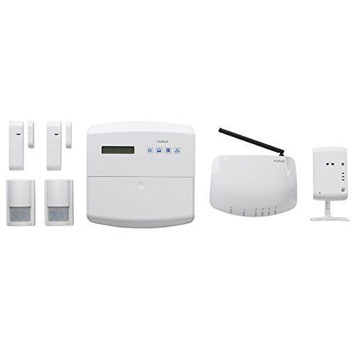 Friedland Global Guard IP-Funk-Set 868MHz mit IP-Kamera 2.4GHz, FGGK0201WWE