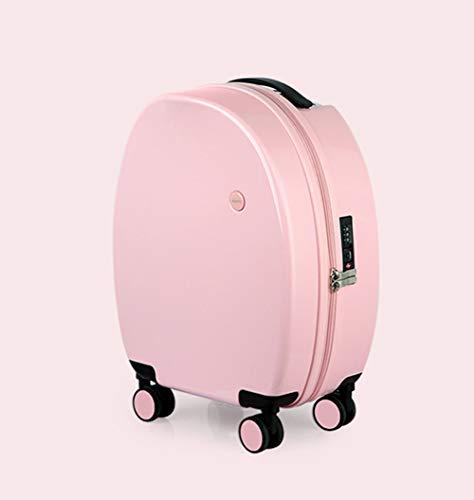 XDD 17,5-Zoll-Trolley mit 8 Spinner-Rädern, TSA-Passwortsperr-Bordkoffer 25,5-l-Business-Koffergepäck für Wochenendreisen oder Akademie-Handgepäck -
