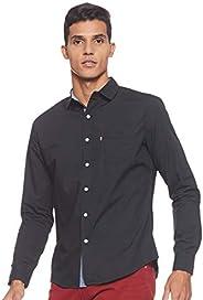 Levi's Mens Mens Solid Regular fit Casual Shirt S