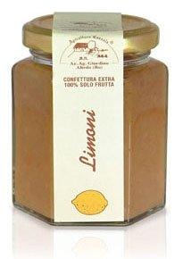 Apicoltura Cazzola - Confettura di Limoni EXTRA 100% (Senza Pectina) - Vasetto da 200 g (Pacco di 2