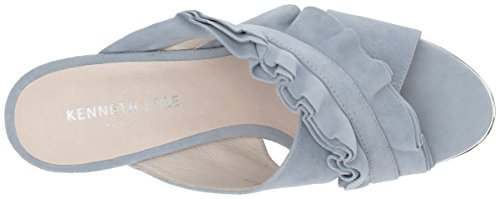 Kenneth Cole Damen Laken Pantoletten Blau (Storm)