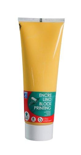 Lefranc & Bourgeois Linoldruckfarbe, auf Wasserbasis 250ml Tube - Goldgelb
