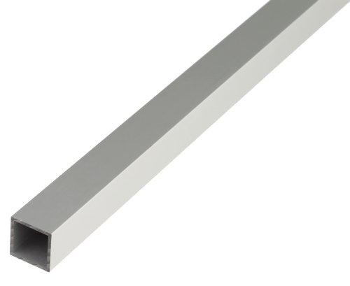 GAH-Alberts 471644 Vierkantrohr - Aluminium, silberfarbig eloxiert, 1000 x 30 x 30 mm