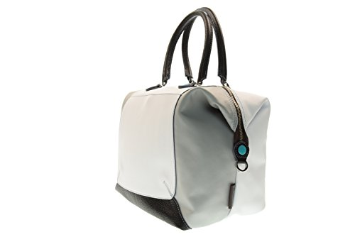 GABS donna borsa a mano G3-E17 MULTI PIATTA TRASF. 3541 PIERROT Bianco-grigio