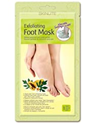 Professional Foot Exfoliating Mask Papaya & Chamomile - 'Sock Type' - Perfectly Peel away Calluses and Dead Skin Cells in Just 2 Weeks!!! / Size 40-45