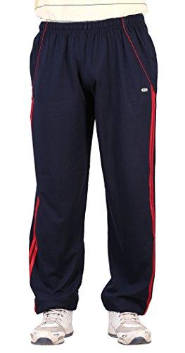 NCI Men's Cotton Track Pant (ncinavy&redstripes--48, Blue, 48)