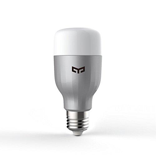 Smart-LED-Leuchtmittel, 16Millionen Farben, RGB, weiß, verstellbar, Wi-Fi, Fernbedienung