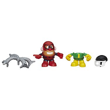 Playskool – Marvel – Mr. Potato Head – M. Patate Spider-Man & Doc Ock – 1 Mini Figurine 8 cm