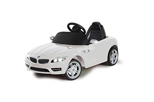 Jouetprive-Voiture porteur électrique BMW Z4 blanche d'occasion  Livré partout en Belgique