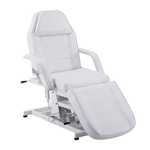 BARBERPUB Sillón reclinable eléctrico de belleza, para terapia, tumbona de masaje, asiento...