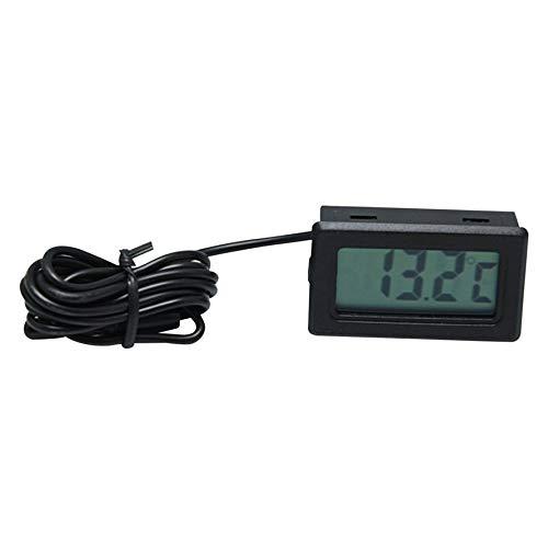HoganeyVan X-10 Digital Embedded thermometer electronic temperature Tester meter Instruments Gauge with probe Aquarium Refrigerator -