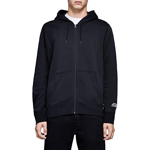 Nike Herren M NK SB Hoodie ICON FZ ESSNL Sweatshirt, Black, XL