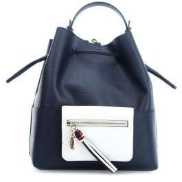 Tommy Hilfiger Love Tommy Borsa hobo blu scuro