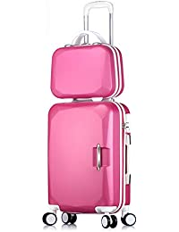 20 inches, 29 inches Z/&YY Aluminum Frame Luggage Box Universal Wheel Trolley case Female Business Suitcase Male Suitcase Box Chassis Password Box Color : Rose Gold, Size : 29 inches