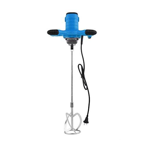 Cartknights GRW 1200/1400/ 1600/1800/ 2350W - Mezclador de mortero (calidad industrial, 930 rpm), color azul y rojo