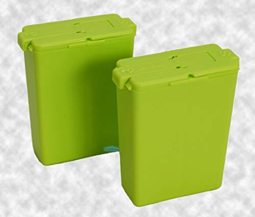 Tupperware® Würzling 2er-Set Salz- und Pfeffer Streuer C72 grün
