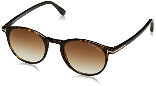 Tom Ford Herren FT0539 52F 48 Sonnenbrille, Braun (Avana Scura/Marrone Grad),