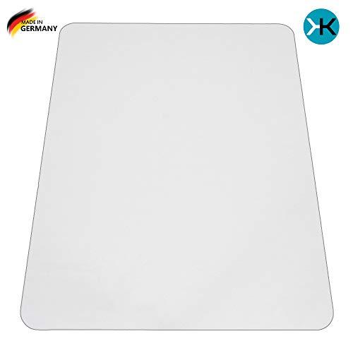 KAISER plastic® PP Bodenschutzmatte   90 x 120 cm   Hartboden   Made-in-Germany