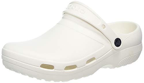 Crocs Specialist II Vent Clog, Zoccoli Unisex-Adulto, Bianco (White 100), 45/46 EU