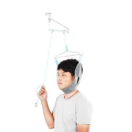 Sonew Cervical Traction Kit über die Tür Hals Traktion Gerät Hals Bahre Schulterschmerzen Brace Relief (Kit Cervical Traction)
