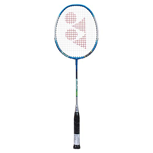 YONEX Muscle Power 200 Strung Badminton Racquet  Cyan, G4, 85 92 Grams, 22 lbs