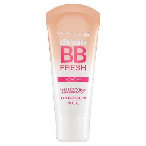 2 x Maybelline Dream BB Fresh Soy Extract 8in1 Beauty Balm SPF30 - Light Medium