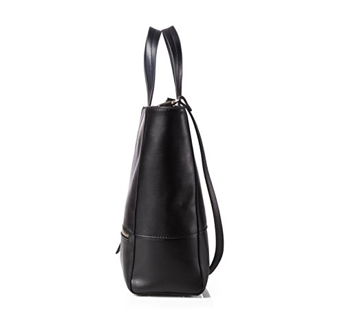 JESSIE & JANE, Borsa tote donna nero Black large Black