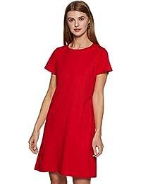 Miss Chase Women's Cotton Shift Dress