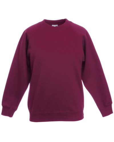 Fruit of the Loom - Sweat à capuche - Femme xx-large Rouge - Bordeaux