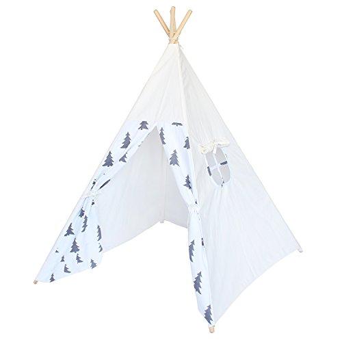 Lebze Tipi Indios Tiendas de campaña o Tepees para niños Jugar y Decorar de algodón 100%