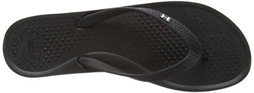 Under Armour Ua W Atlanticdune T, Chaussures de bain femme Noir - Schwarz (BLK 002)