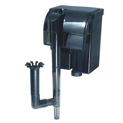 Nicepets® mini filtro per acquario e acquario da zaino esterno con sistema a cascata per filtrare l'acqua in acquari e acquari con pesci o tartarughe. potenza 300 litri ora e 2 w.