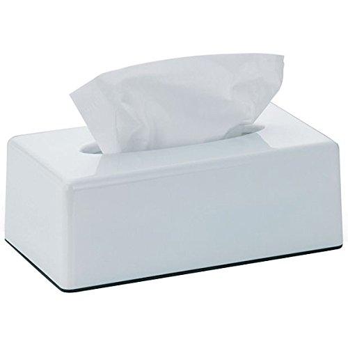 kela Panno Gesichts-Taschentücher-Box Kunststoff in Farbe weiß.