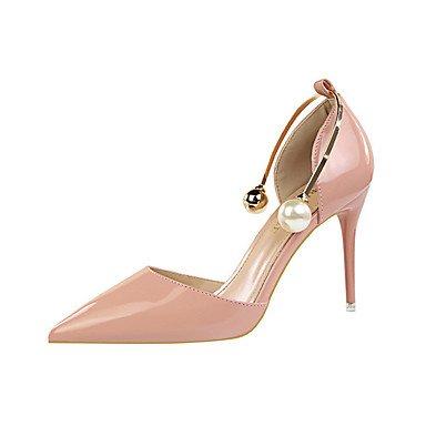 zhENfu Women's Heels Spring / Summer / Fall / Winter Gladiator / Comfort / Novelty Leatherette Wedding / Party & Evening / Dress / Casual Blushing Pink