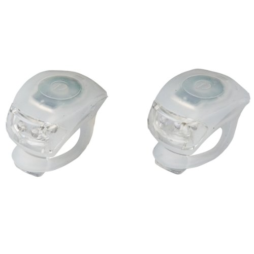 LED Mini Silikonlicht Lampe Silikonleuchte 2er Set, 2 Funktionen wei?