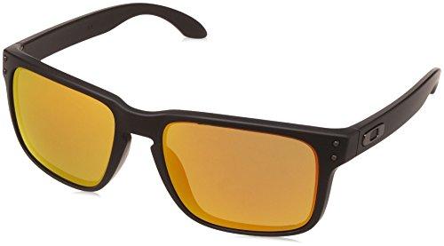 Oakley Herren Sonnenbrille Holbrook, Schwarz (Negro), 55