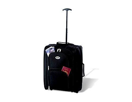 KEPLIN Lightweight Wheeled Cabin Approved Travel Bag Suitcase Case Hand Luggage Trolley Holdall 21