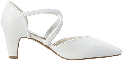 Jane Klain 224 790, Escarpins femme Weiß (WHITE)