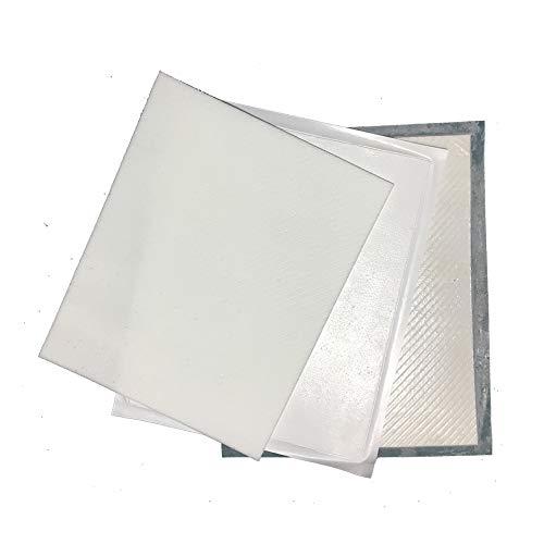 gelhouse Silica Aerogel Sponge Pad Insulation Hydrophobic  250x200x4 0/5 0/2 5/1 2mm (Type A40 + B50+ C25+ C12)