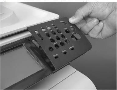 Ersatzteil: HP Inc. Overlay Control Panel Hr, CC519-40022 -