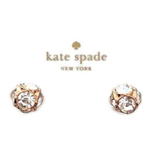 Kate Spade Lady Marmalade Rose Gold Stud Crystal Earrings