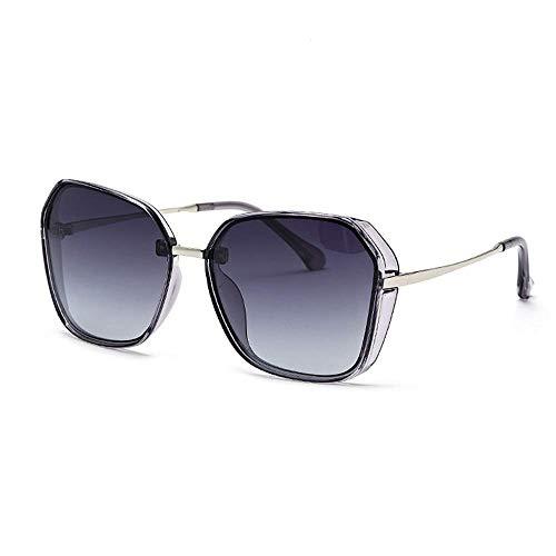 XHCP Damen Polarisierte Klassische Pilotenbrille, Vintage Übergroße Damen Polarisierte Sonnenbrille Herren Angeln Golf Wandern Zubehör Leichte Sonnenbrille Verhindern Sie Sonnenbrillen mit ultrav