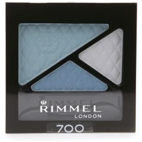Rimmel Glam Eyes Trio Shadow Maritime (Pack of 2) by Rimmel