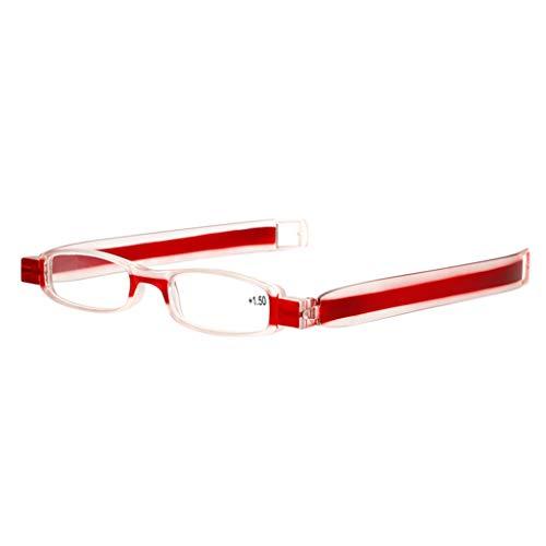 Trisee ✔ Sonnenbrille, Unisex Alte Leute Brille Lesebrille für Sehbehinderte 360 Grad drehbare Brillengläser Hyperopie-Brille