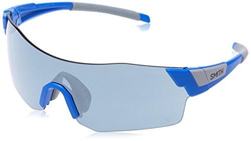 Smith Pivlock Asana/N Xb Pjp, Gafas de Sol para Mujer, Azul (Bluette/SIL Grey Speckled CP), 99