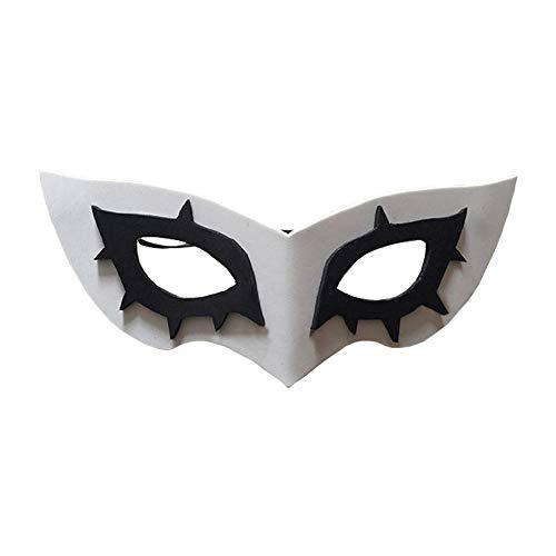 ime Spiel Cosplay Joker Kostüm Auge Maske Cosplay Kostüm Zubehör Zum Erwachsene Kleidung Schick Kleid Waren ()