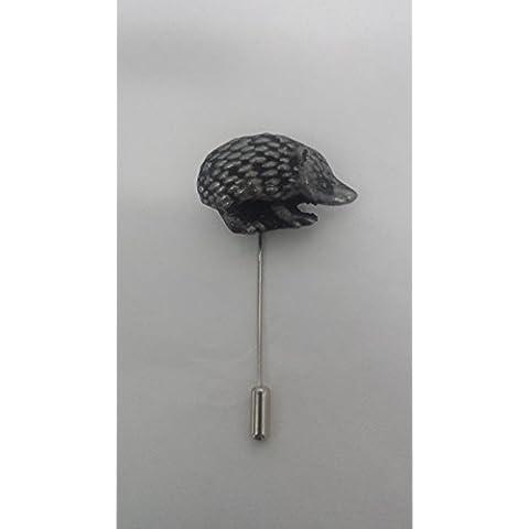 a forma di animali, effetto peltro, emblema su un laccio da collo alto, a maglia, cappello, sciarpa, ecc.